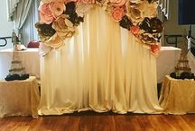 Flower Paper Backdrop