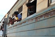 All aboard the Tanzania-Zambia Railway Authority (TAZARA).  / The TAZARA railway line runs about 1,860km from the port of Dar es Salaam in Tanzania to the town of Kapiri Mposhi in Zambia's Central Province.