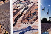 Pont Art / Ignazio Moncada è stato da tutti acclamato come l'inventore della Pont Art (arte del Ponteggio). Qui troviamo alcune delle sue più belle opere.