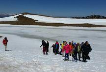 lake in Smolikas mountain 2150m