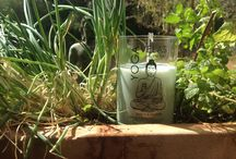 Yoga Velas / YOGA VELAS | into the light | FINE ART FROM MALLORCA | handmade candles - recycled winebottles | organic soy wax and pure essential oils | ॐ