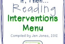 Reading Intervention 4th grade / by Sheron