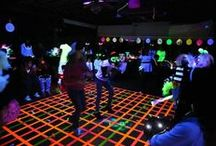 Corporate Event - Black Light Arcade