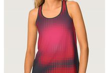 Shirts - Tank Tops / Find colorful and unique designs and patterns on custom tank tops.