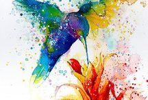 Watercolor and Art