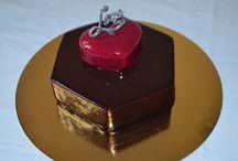 Сладкие тортики!  sweet cake! /  тортики с зеркальной глазурью мои первые шаги в мире кондитерского искусства........... продолжение будет