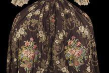 rokoko obr dámských šatů