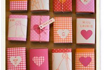 Eco Valentines Crafts with Kids / Do you want your kids to bring in homemade Valentines? Check this out for Valentine's ideas and inspiration.