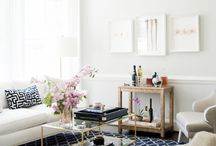 Colors | Navy / Interiors with navy color theme.