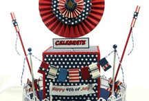CCB Fourth of July / Express your independent style this 4th of July with project inspiration from the Canvas Corp Brands Creative Crew. 7gypsies, Tattered Angels, Canvas Corp