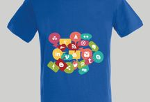SOCIAL NETWORKS / Unisex, woman and child t-shirts www.tshrt.me