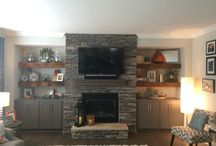 Fireplace Cabinets Built Ins