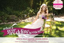 """What's Your Wedding Season: Spring {The Layout} / """"What's Your Wedding Season: Spring"""" {The Layout} is in the SF2014 issue of Real Weddings, Photos: www.MemoryJournalists.com © www.RealWeddingsMag.com; Venue: www.WineRose.com; Styling/Coord: www.2ChicEvents.com; Styling/Flowers: www.ThistleAndHoneyFloral.com; H/M: www.MapleAndMoss.com; Gowns: www.EnchantedBridalShoppe.com; Cupcakes: www.SweetCakes.biz; Paperie: www.HoneyPaperie.com; Rentals: www.AmericasPartyRental.com; www.TheFindRentals.com; for more: http://www.realweddingsmag.com/?p=41523"""