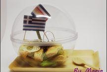 Mes créations culinaires / Inspirée par la cuisine Crètoise... Inspirée par la cuisine Française...The MEETING IS HERE!