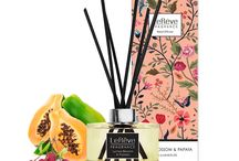 Lychee Blossom & Papaya Reed Diffuser / Le Rêve Reed Diffusers feature premium quality perfume blended in a non-alcoholic solution for effective home fragrancing. We use natural rattan reeds that are tinted black with non-toxic colour dye for presentation. Presented in elegant packaging, with a stunning carton for each individual fragrance, they are the perfect way to freshen and brighten rooms where an open flame isn't convenient.