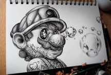 DISNEY / DR MARIO/ TATTOO