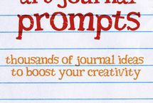 Art-Art Journal Prompts &Techniques
