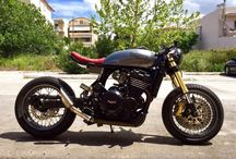 triumph tiger 885 cafe racer