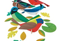 Charley Harper inspired projects