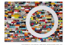Art-James Verbicky / Colorful art by mixed media artist, James Verbicky.