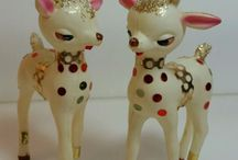 Kitsch Christmas / Merry Kitschmas! Retro, midcentury modern Holiday decorations.