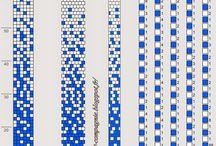 схемы бисерных жгутов