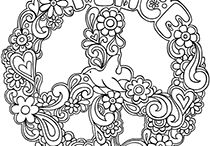 Coloring Pages / Designs suitable for coloring.