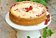 red currant cheesecake