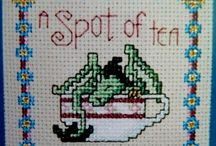 Dragon cross stitch freebies