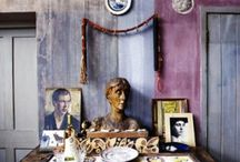 Bloomsbury / Images of interiors, gardens, furniture, paintings and objects related to Bloomsbury / by Alicia Whitaker
