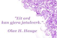 Olav H Hauge