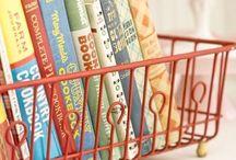 organizar  livros recetias cozinha