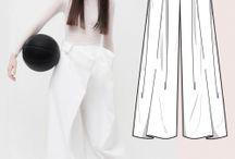 kalhotove sukne