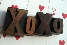 Letterpress Love / Wood Type - Print Blocks - Letters - Punctuation - Numbers / by ThreeOldKeys