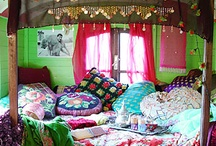 Bedroom Redeux / the gypsy bedroom / by Michelle Pribbernow