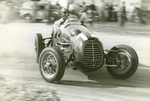 Historic cars and drivers