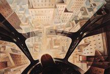 La città in arte / Dipinti e foto che hanno come tema la citta'