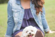 Puppy & me poses