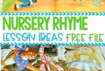 Nursery Rhymes / This Pinterest Board contains ideas, Decor, activities, nursery rhymes, lessons, and crafts to help preschool, PreK, and Kindergarten teachers and students. #nurseryrhymes #prechool #prek #kindergareten #nurseryrhymecrfts