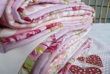 Custom made quilts / Baby shower quilts