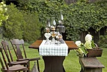 OUTDOOR DINING / by Tammy Sanders