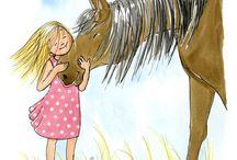 lovas képek, festmények / hirdetés drawing