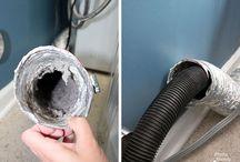 clean dryer vent