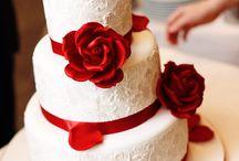 weselne biało-czerwone