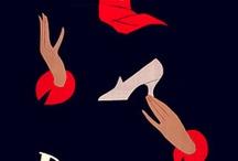 vintage shoe ads