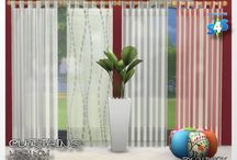 The Sims 4 curtains