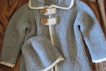 casacos malha bebé