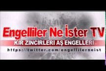 Engelliler Ne İster TV - Youtube Video / https://www.youtube.com/channel/UCq4z5s9kNYuc5uftfVU2A8Q https://twitter.com/engellilerneist https://www.facebook.com/Engellilerneister