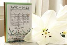 fierce frutigers : save the date / by Katie Pierce