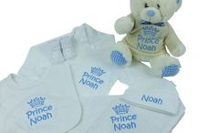 Gift sets / Personalised embroidered gift sets for boys and girls